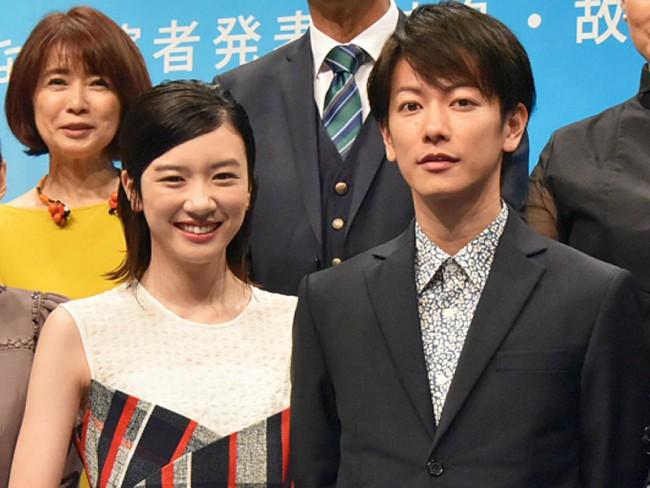 NHK連続テレビ小説『半分、青い。』出演者発表会見20170822