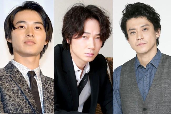 山崎賢人、中島健人、綾野剛、小栗旬 2018年も活躍が期待できる年男の俳優たち