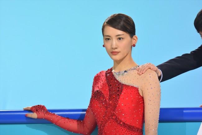 「コカ・コーラ」平昌 2018 冬季オリンピック応援キャンペーンテレビCM『夢の舞台』篇 場面カットおよび撮影の様子