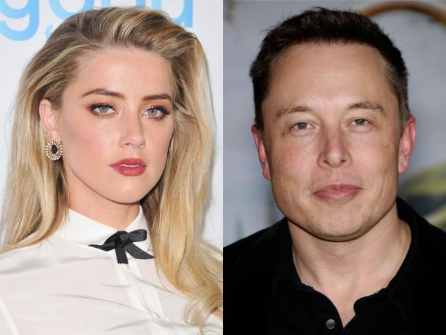 アンバー・ハード Amber Heard、イーロン・マスク Elon Musk