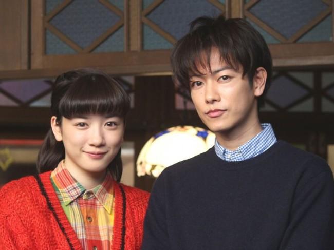 NHK連続テレビ小説『半分、青い。』スタジオ取材会20180118