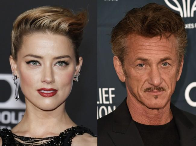 アンバー・ハード Amber Heard、ショーン・ペン Sean Penn