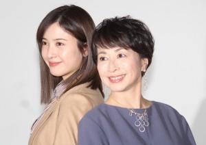 『正義のセ』囲み取材 吉高由里子 阿川佐和子 20170314