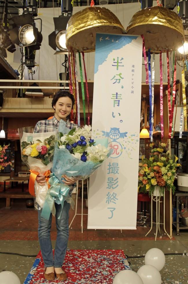 【NHK】『半分、青い。』永野芽郁クランクアップ