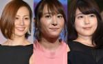(左から)米倉涼子、新垣結衣、有村架純
