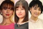 (左から)真野恵里菜、橋本環奈、葵わかな