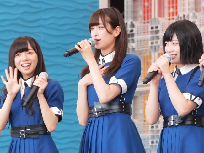 TIF2017に出演した欅坂46