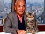 岩合光昭監督&主人公の愛猫を演じたベーコン、『ねことじいちゃん』インタビュー