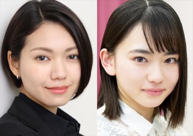 (左から)二階堂ふみ、山田杏奈
