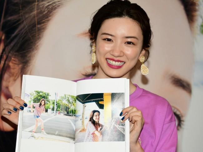 1st写真集「moment」発売記念イベントを行った永野芽郁 20190526