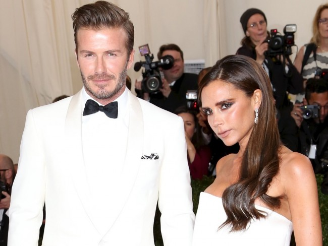 デヴィッド・ベッカム  David Beckham、ヴィクトリア・ベッカム  Victoria Beckham、The Metropolitan Museum of Art Annual Gala、New York20140505