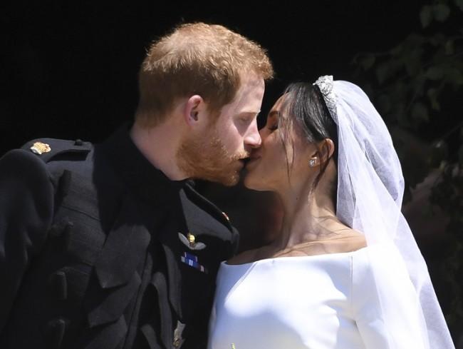 19/05/2018. London, UK. Prince Harry, Meghan Markle