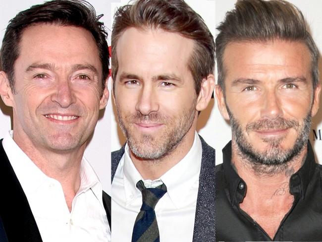 デヴィッド・ベッカム、David Beckham、ヒュー・ジャックマン、Hugh Jackman、ライアン・レイノルズ、Ryan Reynolds