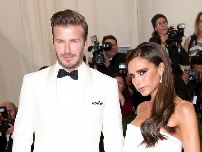 デヴィッド・ベッカム David Beckham、ヴィクトリア・ベッカム Victoria Beckham、The Metropolitan Museum of Art Annual Gala、New York20140505
