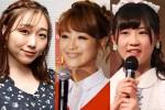 左から須田亜香里、鈴木奈々。西野未姫