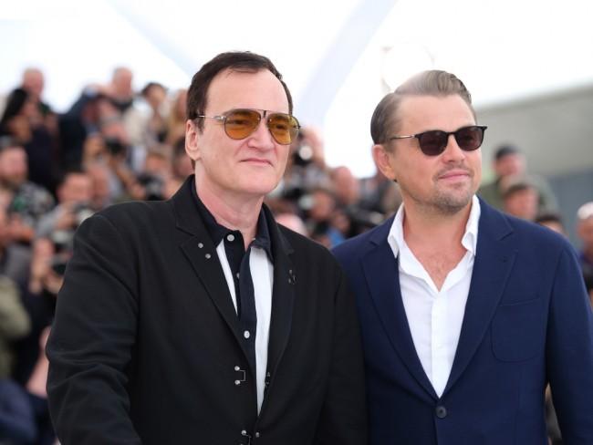 来日が決定した(左から)クエンティン・タランティーノ監督&レオナルド・ディカプリオ