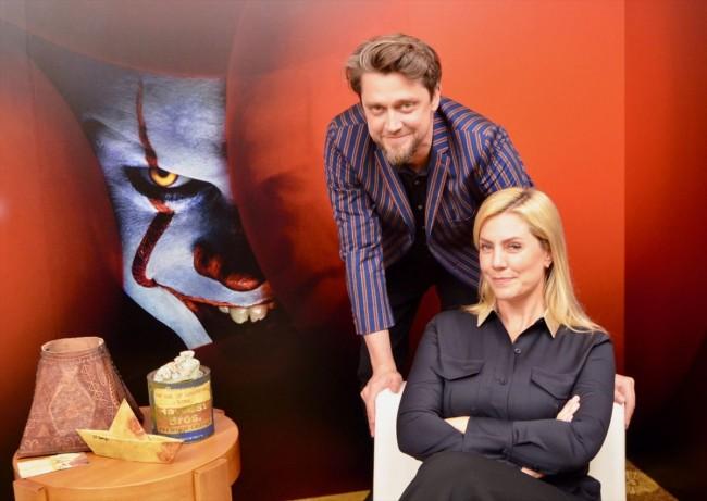 """アンディ・ムスキエティ監督と姉でプロデューサーのバルバラ・ムスキエティ、『IT/イット THE END """"それ""""が見えたら、終わり。』インタビュー"""