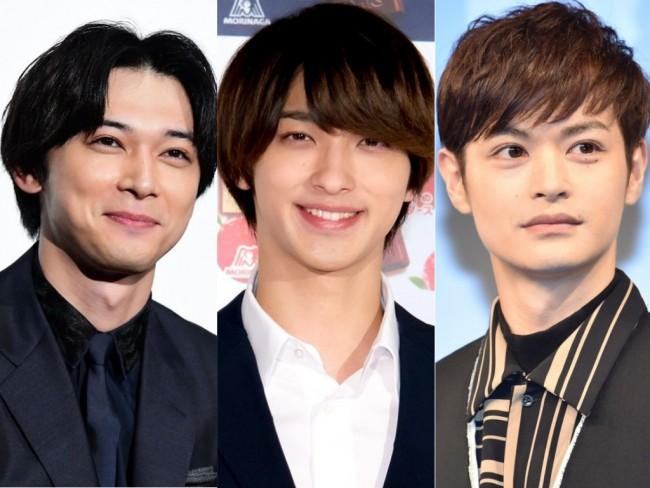 (左から)吉沢亮、横浜流星、瀬戸康史