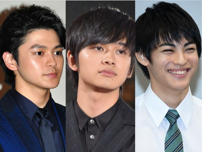(左から)眞栄田郷敦、北村匠海、神尾楓珠