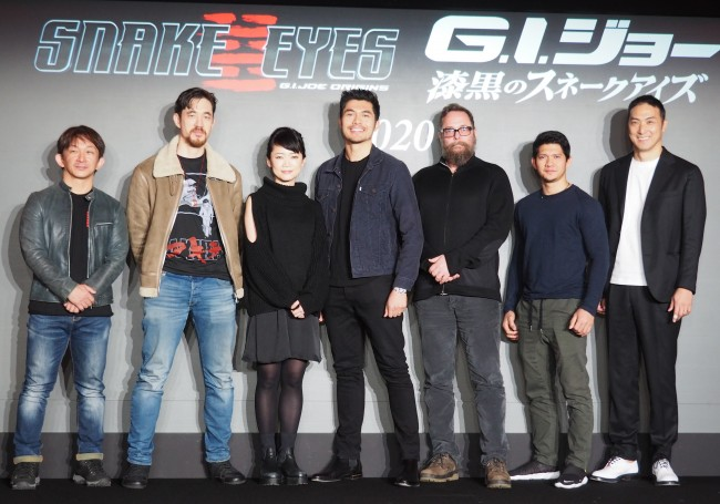 【作品以外使用NG】映画『G.I.ジョー:漆黒のスネークアイズ』製作発表会 20200110