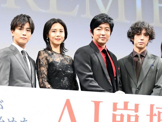 映画『AI崩壊』ジャパンプレミア 20200114