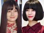 (左から)橋本環奈、池田エライザ