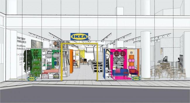 「IKEA原宿」