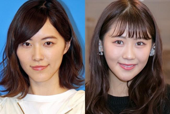(左から)松井珠理奈、西野未姫