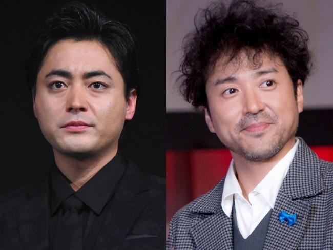 (左から)山田孝之、ムロツヨシ