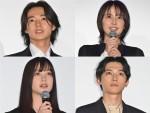 (左上から時計回りで)山崎賢人、長澤まさみ、吉沢亮、橋本環奈