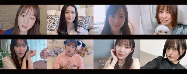 AKB48メッセージソング「離れていても」ミュージックビデオ