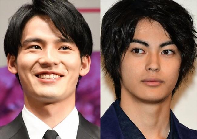 (左から)岡田健史、神尾楓珠