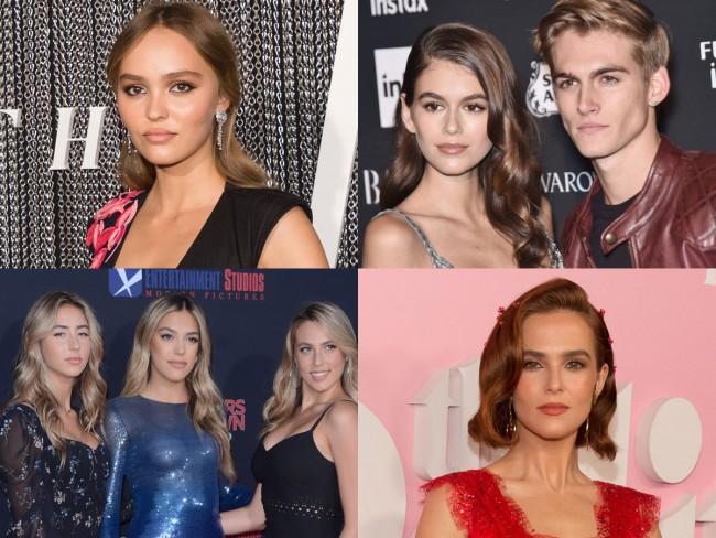 ハリウッドで活躍する新世代の二世セレブたち