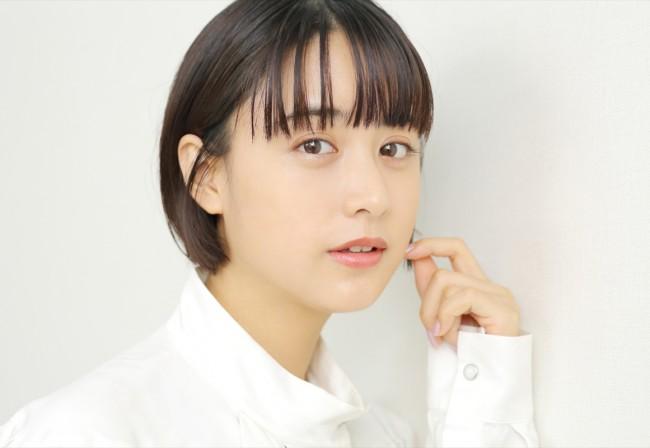 2020年9月18日撮影 舞台『獣道一直線!!!』山本美月インタビュー
