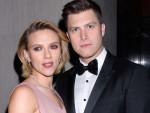 Scarlett Johansson、Colin Jost、November 15、2018.