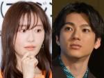 ドラマ『先生を消す方程式。』で共演する松本まりかと山田裕貴