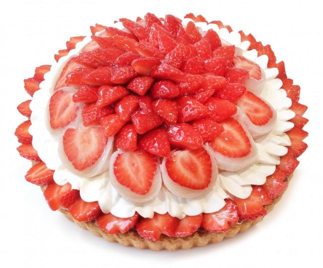 「カフェコムサ」いちごの日限定ケーキ