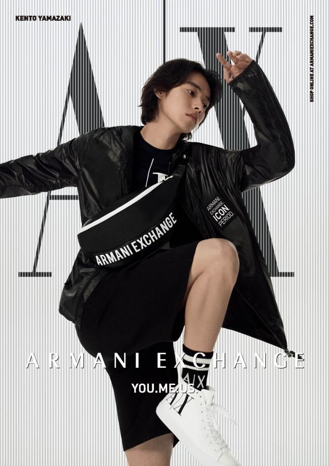 「A X アルマーニ エクスチェンジ」2021春夏広告ビジュアル