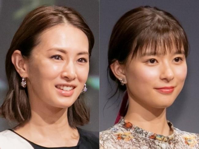(左から)北川景子、芳根京子