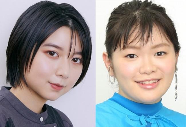 (左から)上白石萌歌、富田望生