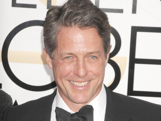 ヒュー・グラント、Hugh Grant、Anna Eberstein、January 8、2017