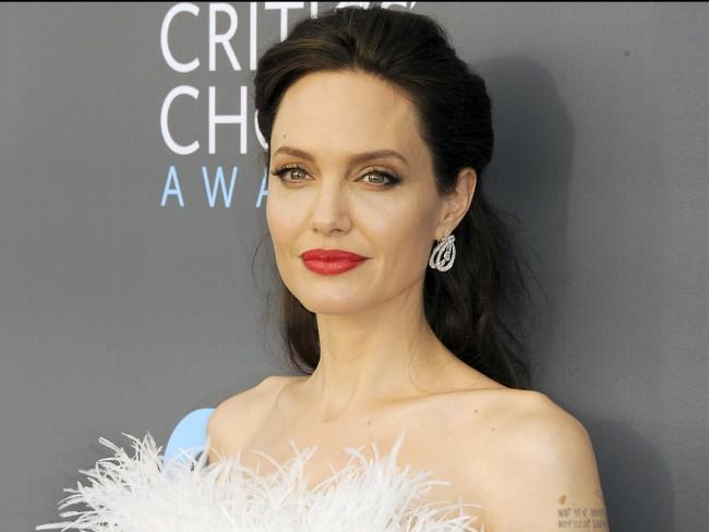 アンジェリーナ・ジョリー、Angelina Jolie、January 11、2018