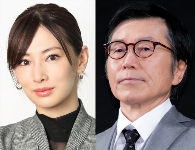 (左から)北川景子、平田満