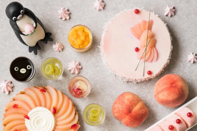 桃を味わい尽くすスイーツビュッフェ開催!