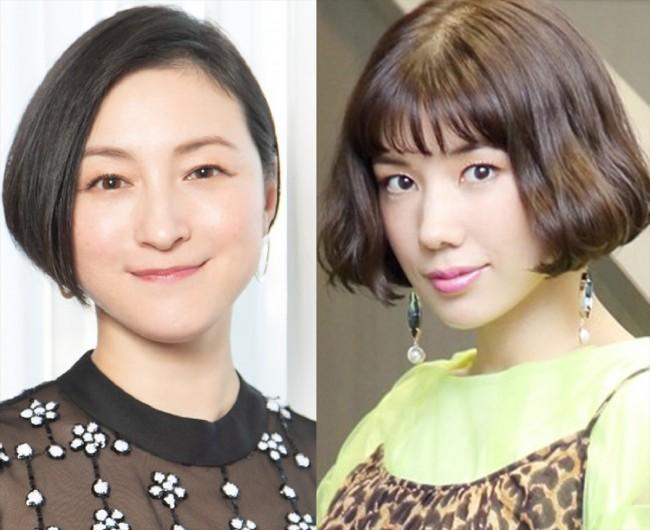 (左から)広末涼子、仲里依紗