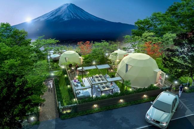 富士山 グランピング施設