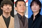 秋ドラマ出演する(左から)坂口健太郎、小栗旬、綾野剛