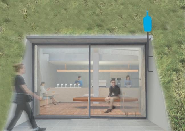 「ブルーボトルコーヒー 白井屋カフェ」